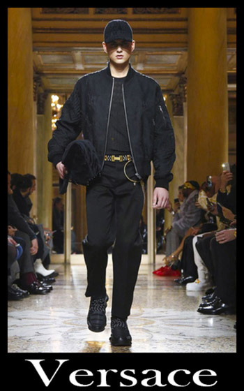 Abbigliamento Versace Autunno Inverno 2018 2019 Uomo 2