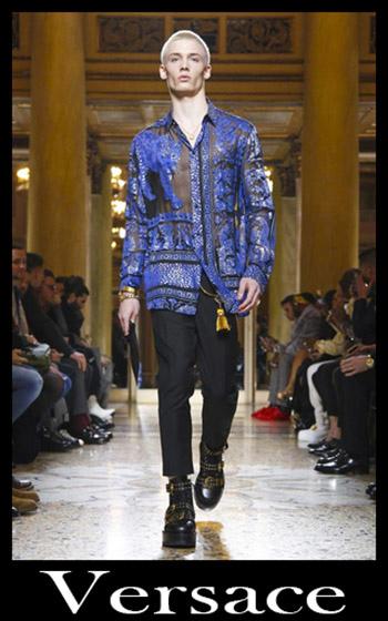 Abbigliamento Versace Autunno Inverno 2018 2019 Uomo 3