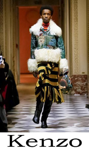 Notizie Moda Kenzo Donna Autunno Inverno 1