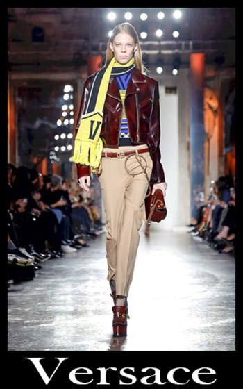 Notizie Moda Versace Donna Autunno Inverno 1