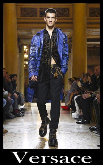 Notizie Moda Versace Uomo Autunno Inverno 1