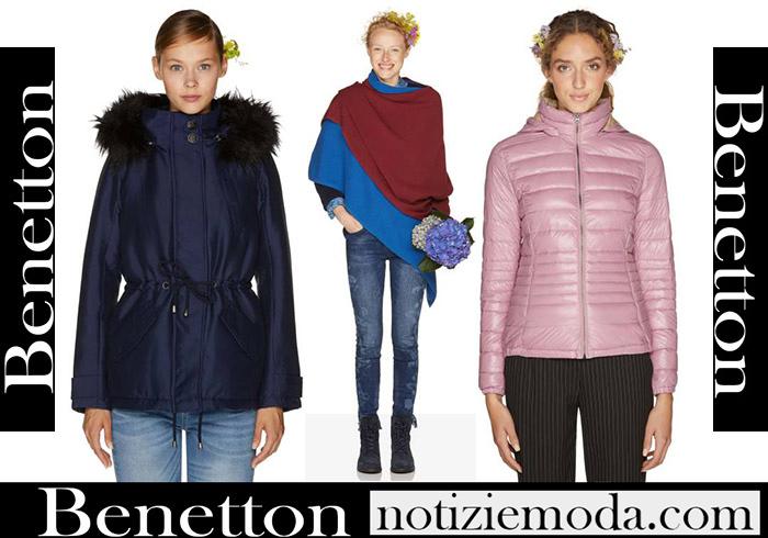 Nuovi Arrivi Benetton Capispalla 2018 2019 Moda Donna