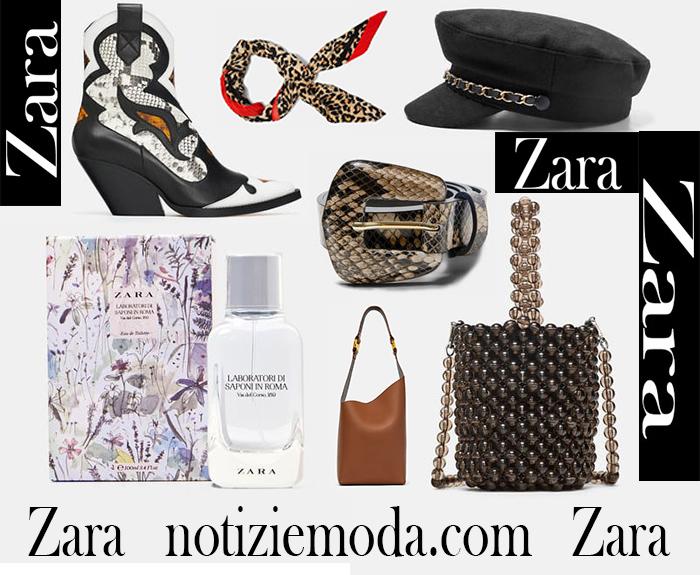 Nuovi Arrivi Zara 2018 2019 Accessori Donna