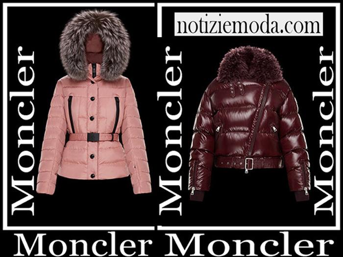Nuovi Arrivi Moncler Capispalla 2018 2019 Moda Donna