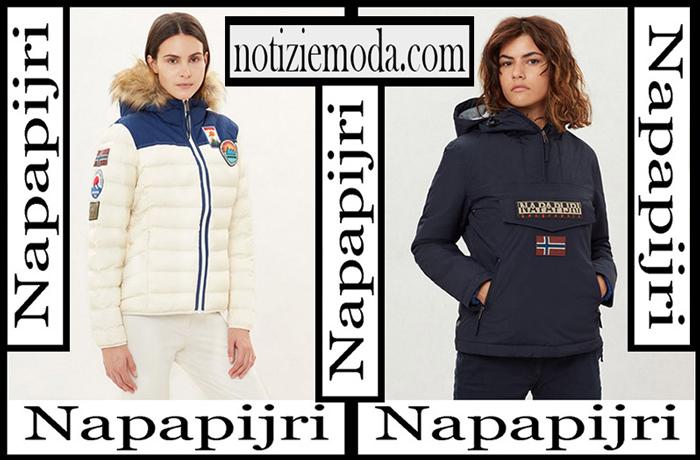 Nuovi Arrivi Napapijri Capispalla 2018 2019 Donna