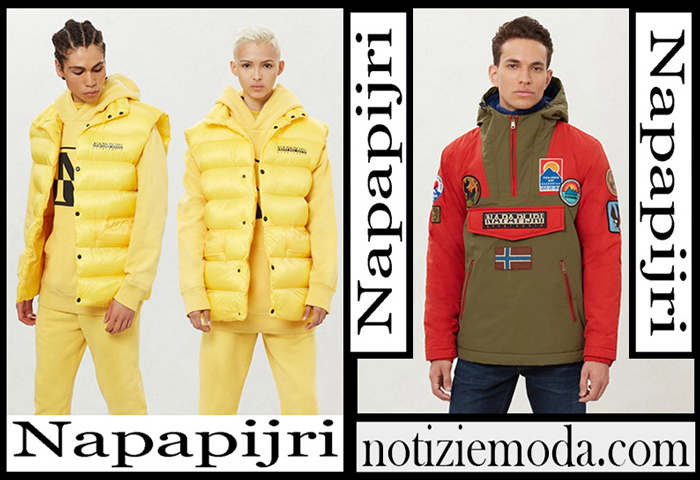 Nuovi Arrivi Napapijri Capispalla 2018 2019 Moda Uomo
