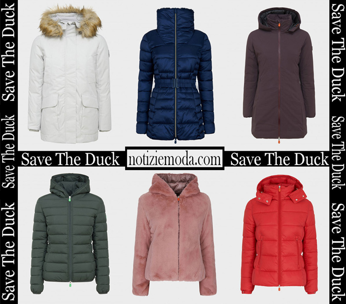 Nuovi Arrivi Save The Duck Capispalla 2018 2019 Donna