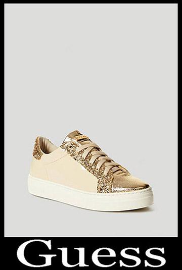 Moda Guess Sneakers alta con zeppa Donna Nero 20182019