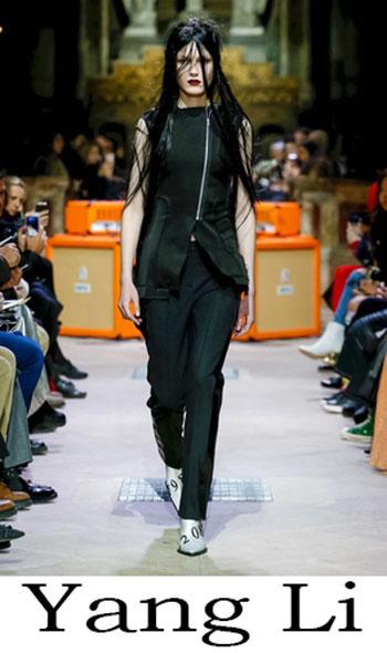 Yang Li Autunno Inverno 2018 2019 Donna 1