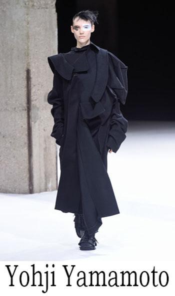 Yohji Yamamoto Autunno Inverno 2018 2019 Donna 1