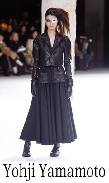 Yohji Yamamoto Autunno Inverno 2018 2019 Donna 12