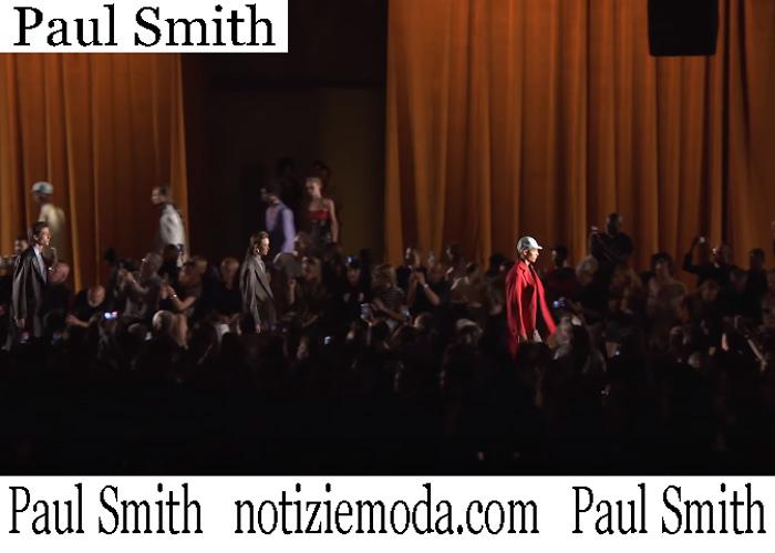 Fashion Show Paul Smith 2019