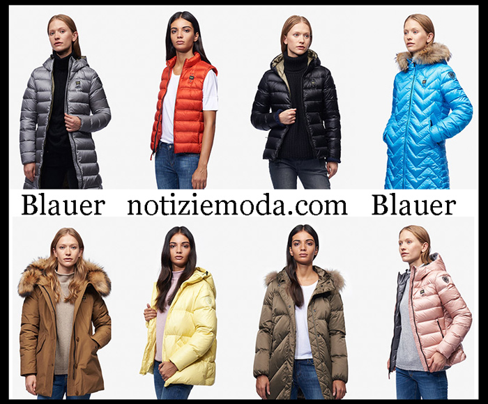 Nuovi Arrivi Blauer Capispalla 2018 2019 Moda Donna