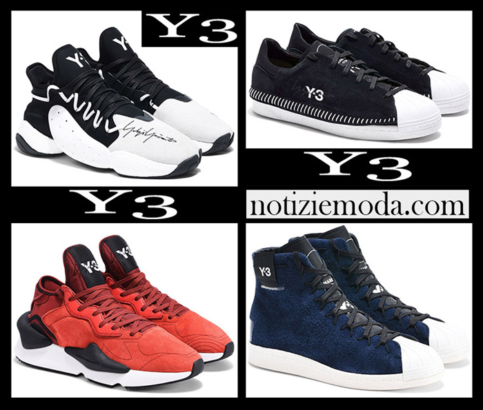 Nuovi Arrivi Y3 2018 2019 Sneakers Donna