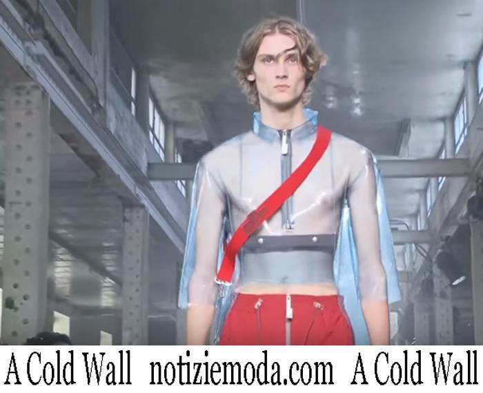 Sfilata A Cold Wall 2019 Moda Uomo