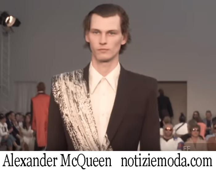 Sfilata Alexander McQueen 2019 Moda Uomo