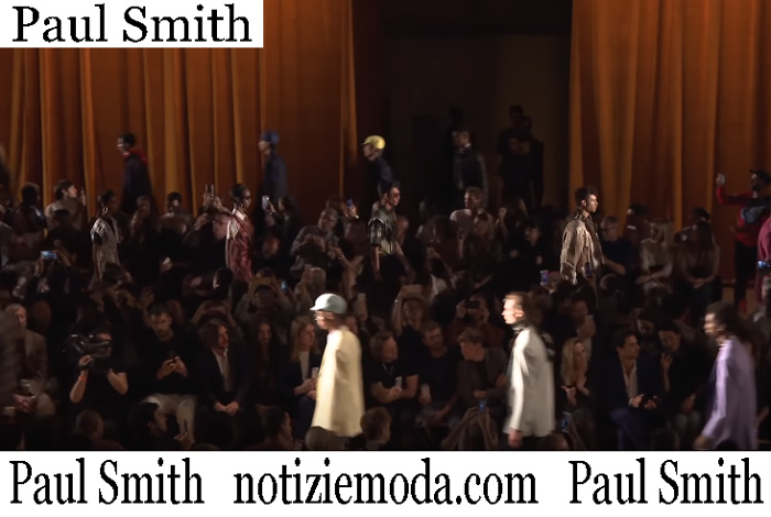Sfilata Paul Smith 2019 Moda Uomo
