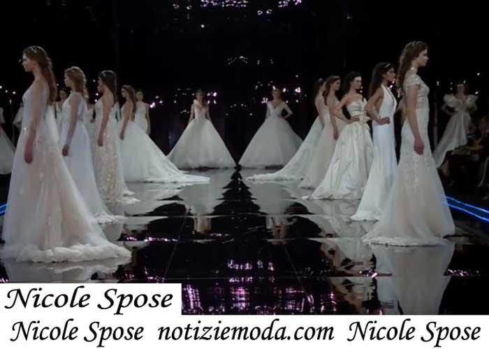 Sfilata Sposa Nicole Spose2019 Primavera Estate Abiti Cerimonia