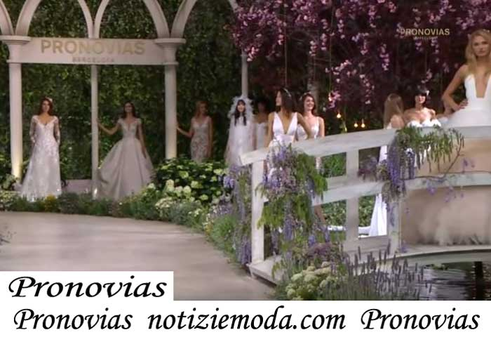 Sfilata Sposa Pronovias2019 Primavera Estate Abiti Cerimonia