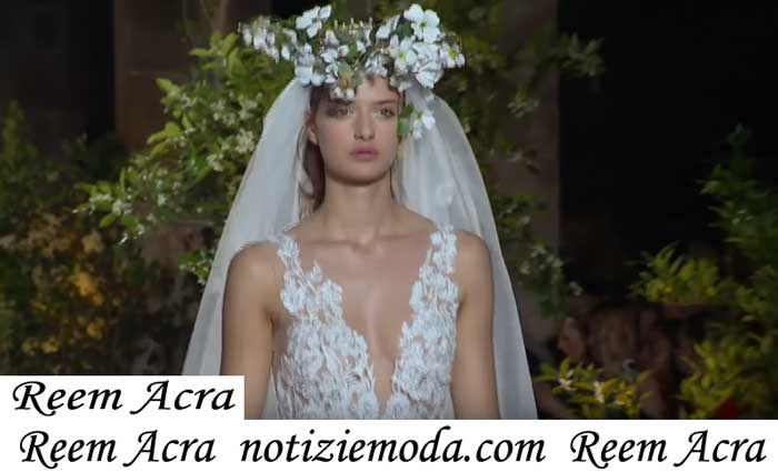Sfilata Sposa Reem Acra 2019abiti Cerimonia