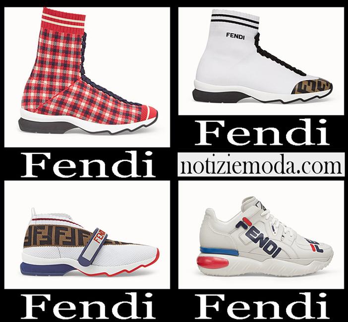 Nuovi Arrivi Fendi 2018 2019 Sneakers Donna