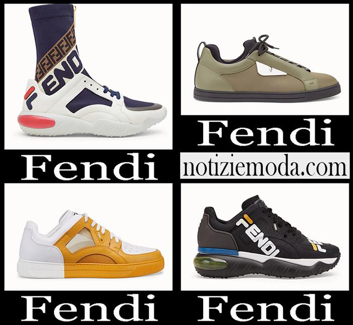 Nuovi Arrivi Fendi 2018 2019 Sneakers Uomo
