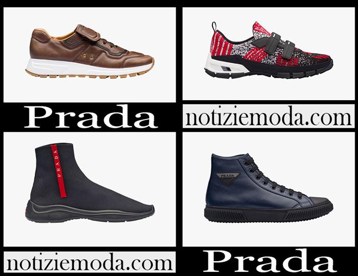 pretty nice 8d454 2e0a4 Sneakers Prada scarpe uomo nuovi arrivi