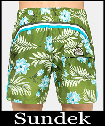 Boardshorts Sundek Primavera Estate 2019 Uomo Look 10