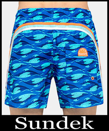 Boardshorts Sundek Primavera Estate 2019 Uomo Look 11