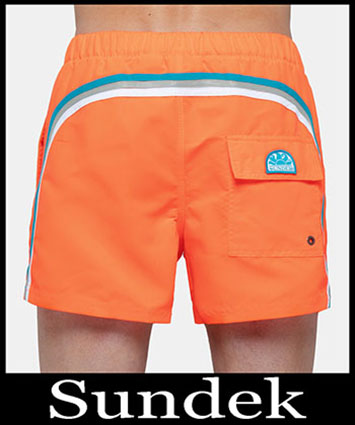 Boardshorts Sundek Primavera Estate 2019 Uomo Look 17