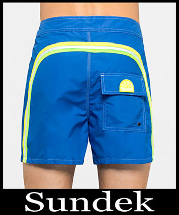 Boardshorts Sundek Primavera Estate 2019 Uomo Look 21