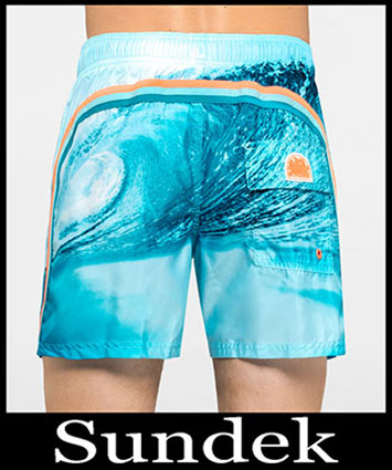 Boardshorts Sundek Primavera Estate 2019 Uomo Look 28