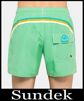 Boardshorts Sundek Primavera Estate 2019 Uomo Look 7