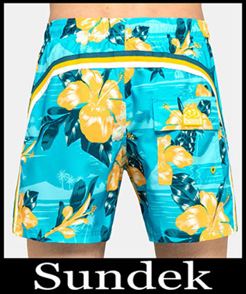 Boardshorts Sundek Primavera Estate 2019 Uomo Look 8