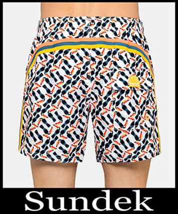 Boardshorts Sundek Primavera Estate 2019 Uomo Look 9