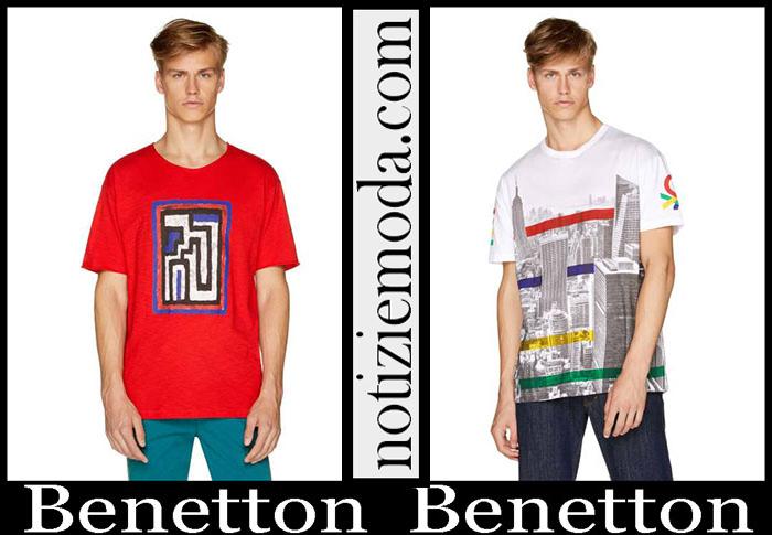 Nuovi Arrivi Benetton Collezione 2019 T Shirts Uomo