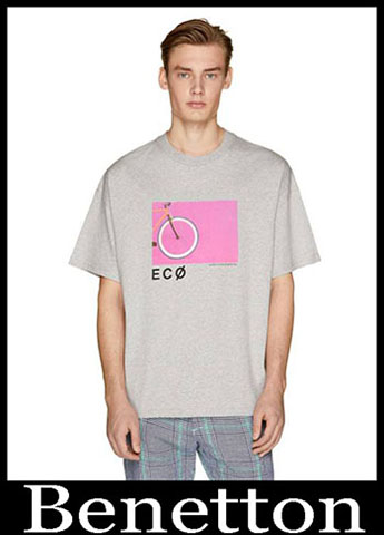 T Shirts Benetton Primavera Estate 2019 Moda Uomo 15