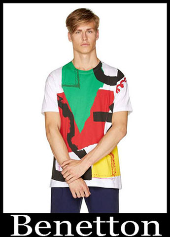 T Shirts Benetton Primavera Estate 2019 Moda Uomo 16