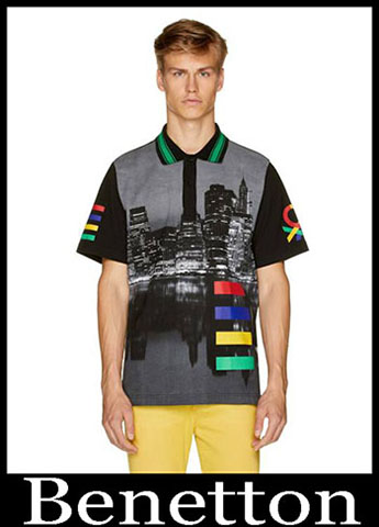 T Shirts Benetton Primavera Estate 2019 Moda Uomo 19