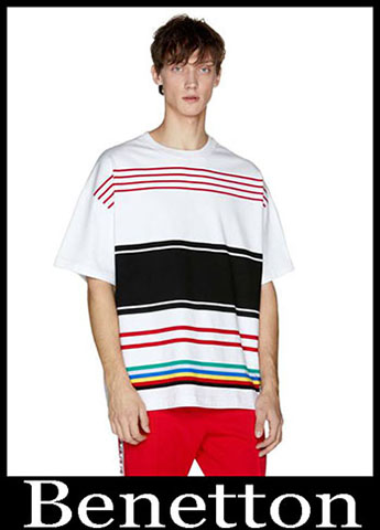 T Shirts Benetton Primavera Estate 2019 Moda Uomo 21
