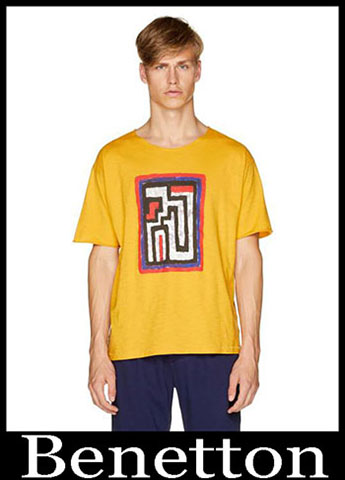 T Shirts Benetton Primavera Estate 2019 Moda Uomo 22
