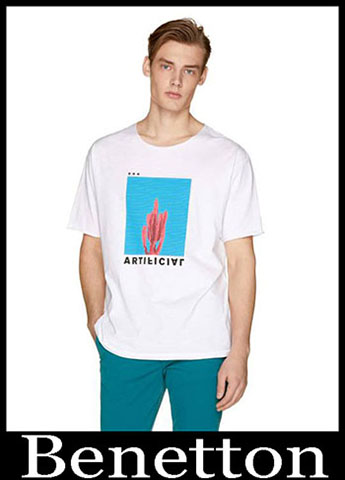 T Shirts Benetton Primavera Estate 2019 Moda Uomo 23