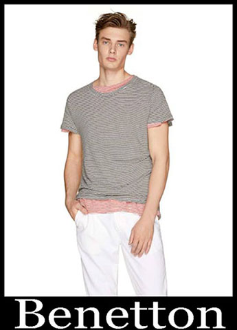 T Shirts Benetton Primavera Estate 2019 Moda Uomo 24