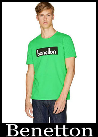 T Shirts Benetton Primavera Estate 2019 Moda Uomo 29
