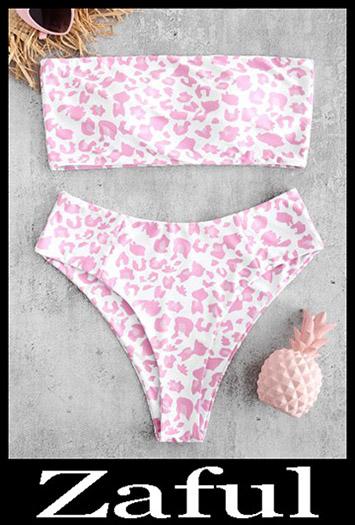 Strapless BikiniLeopard Bandeau Bikini Set