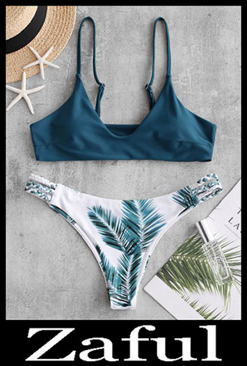 Mix And MatchZAFUL Braided Strappy Leaf Bralette Bikini Swimsuit