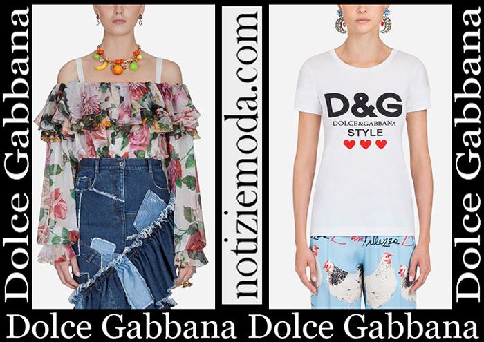 Nuovi Arrivi Dolce Gabbana Abbigliamento 2019 Moda Donna