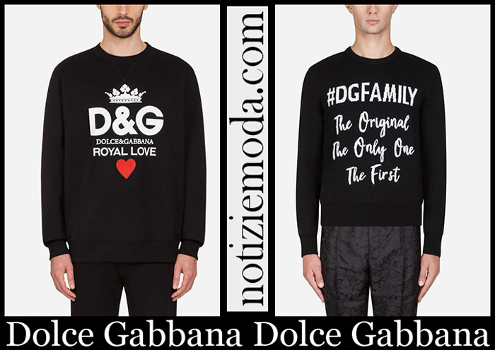 Nuovi Arrivi Dolce Gabbana Abbigliamento 2019 Moda Uomo