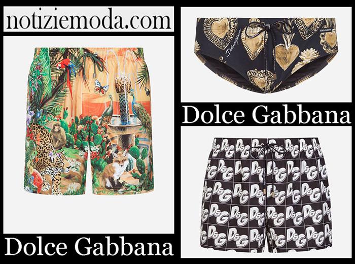 Nuovi Arrivi Dolce Gabbana Accessori Mare 2019 Costumi Uomo