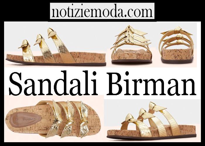 Sandali Birman Scarpe Donna Nuovi Arrivi Su Notizie Moda